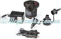Насос электрический Intex Electric Pump: 3 насадки, 12/220 Вольт
