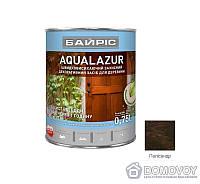 Акриловая лазурь для дерева Байрис Aqualazur 0.75 палисандр , код 99-359