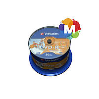 VERBATIM DVD-R 4,7Gb 16x Cake 50 pcs Printable