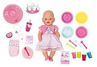 Интерактивная кукла пупс с Днем Рождения Беби борн оригинальный Zapf Creation Baby born Interactive