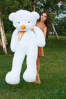 Мягкий плюшевый мишка Тедди. 180 см. Белый