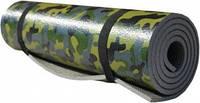 Коврик туристический 50х180 см т. 10мм (хаки) ТМ Термоизол-К