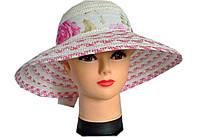 Женская соломенная шляпа. Летние шляпки.