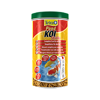 Tetra Pond Koi Sticks Разработанный специально для здорового и сбалансированного питания карпов Кои