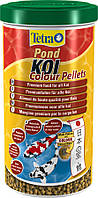 Tetra Pond Koi Colour Pellets Высококачественный корм для любых видов декоративных карпов