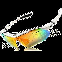 Велосипедные очки BaseCamp BC-102 White