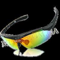 Велосипедные очки BaseCamp BC-102C Black