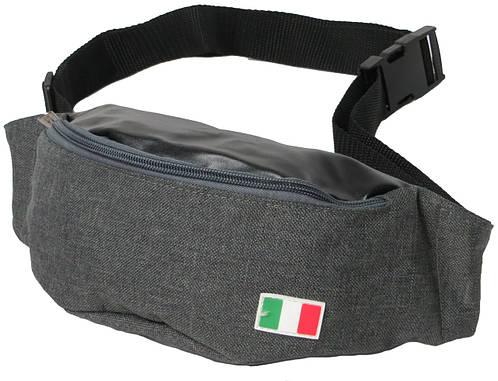 Поясная сумка Loren WB-05C2 серый