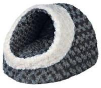 Домик для маленькой собаки Trixie Kaline 35*26*41см серый/кремовый (36341)
