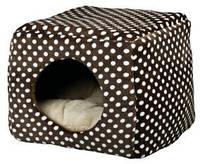 Домик-трансформер для маленькой собаки Trixie Mina 40*32*40см коричн/беж (36324)