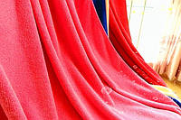 Полотенце из микрофибры 80*180 микрофибра банное пляжное красное