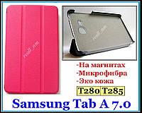Розовый TF CASE чехол для планшета Samsung Galaxy Tab A 7.0 T280 T285