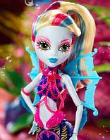 Кукла Monster High Лагуна Блю (Lagoona Blue) Большой Скарьерный Риф Монстер Хай Школа монстров