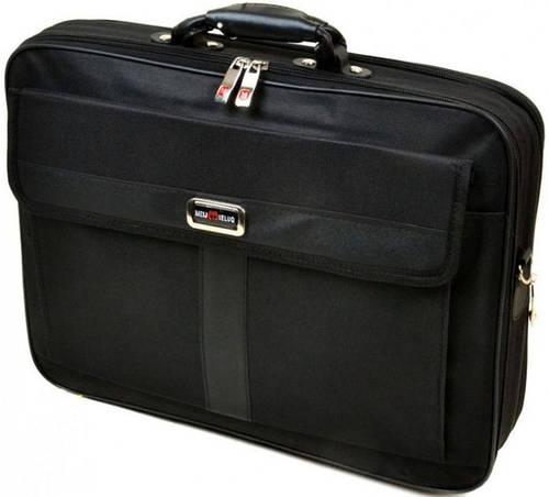 """Вместительная деловая сумка для ноутбука из нейлона 15,6"""" 5781-1, черный"""
