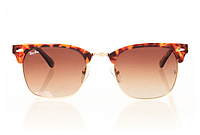 Очки Ray Ban Clubmaster Leopard-Gold-Brown 8188