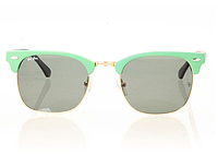 Очки Ray Ban Clubmaster Green-Gold-Green 8186