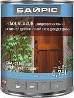 Акриловая лазурь для дерева Байрис Aqualazur 0.75 орех ,  код 99-365