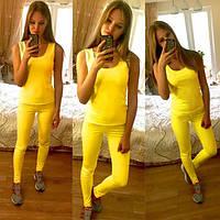 Летний женский спортивный костюм