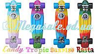 Скейтборд/скейт Penny Board Fades Градиент/Мультиколор (Пенни борд): 4 цвета