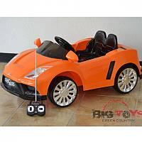Детский электромобиль  Lamborghini CH 915: 70W, 3-7км/ч, MP3 - ОРАНЖЕВЫЙ купить оптом