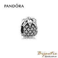 PANDORA шарм АНАНАС №791293CZ серебро 925 Пандора оригинал