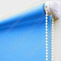 70 см х 170 см. Ткань Лен. Рулонные шторы, Тканевые роллеты.