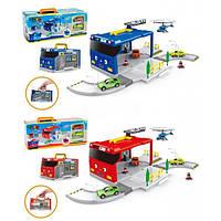 Гараж паркинг детский игровой набор Тайо 2 вида XZ-601/2
