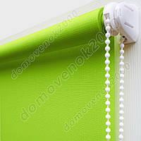 55 см х 170 см. Ткань Лен. Рулонные шторы, Тканевые роллеты.