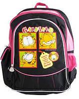 Ранец школьный 1 Вересня 1516 черный/ярко-розовый (551114)