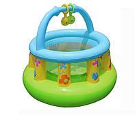 Манеж детский надувной, размер 130-104см Intex 48474