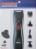 Аккумуляторный набор для бритья и стрижки Schtaiger