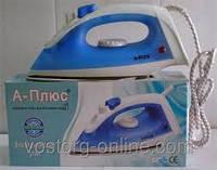 Электрический утюг А-Плюс 0075, Утюг А-Плюс 0075, мелкая бытовая техника для дома