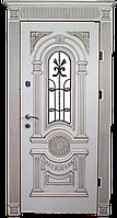Двери входные с ковкой и стеклопакетом. Входные двери Ковка.