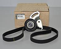Комплект натяжитель + ролик + ремень генератора на Renault Kangoo 2001->  1.5dCi  — Renault -  7701476473