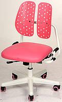 Детское кресло, ортопедическая спинка, красное