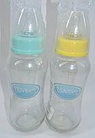 Бутылочка стеклянная  для новорожденных