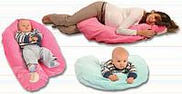 Подушка для беременных и кормления (в ассортименте, велюровая наволочка, полба), Womar