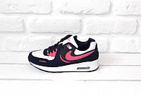 Женские кроссовки Nike Air Max 87 (Pink & Black)