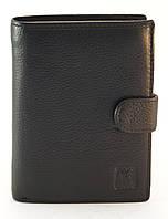 Кожаный горизонтальный мужской кошелек с картхолдером CEFIRO art. CE388-302-1