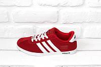 Женские кроссовки Adidas Gazelle (Red)