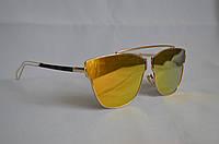 Солнцезащитные очки женские DIOR желтый