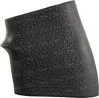 Накладка на рукоять Hogue Handall Jr. резиновая на рукоять оружия (маленькая, черная)