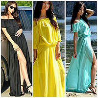 Пляжное платье-туника (цвета в ассортименте)