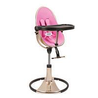 "Cтульчик для кормления «Bloom» ""Fresco"" цвет ""Rose Gold"", вкладыши ""Rosy Pink"" (E10516-RPL-11-AKS)"