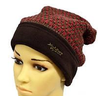 Оригинальная теплая шапка на зиму