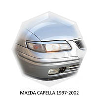 Реснички на фары Mazda CAPELLA 1997-2002 г.в. Мазда Капелла