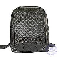 Рюкзак из кожзаменителя - 7218