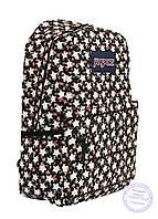Рюкзак для девочек подростков - черный - 8019