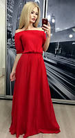 """Платье """"Ева"""", красное"""