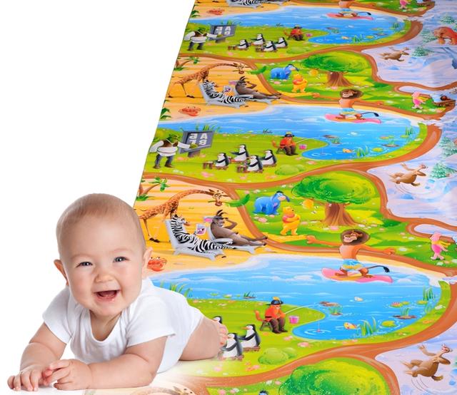 Новинка! Детский развивающий игровой коврик Kinder